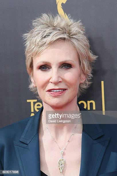 Actres Jane Lynch attends the 2016 Creative Arts Emmy Awards Day 2 at the Microsoft Theater on September 11 2016 in Los Angeles California