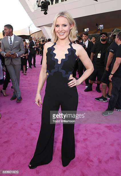 Actres Kristen Bell attends the 2016 Billboard Music Awards at TMobile Arena on May 22 2016 in Las Vegas Nevada