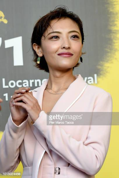 Actres Luna Kwok attends the Pardo D'oro of International Competition Grand Prize of the City of Locarno at the Palmares photocall during the 71st...