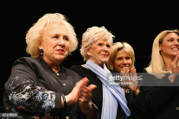Actreses Doris Roberts Alice Hirson Cindy Pickett and Donna Scott perform at the VDAY West LA 2006 Show at the Ivy Substation on April 24 2006 in...