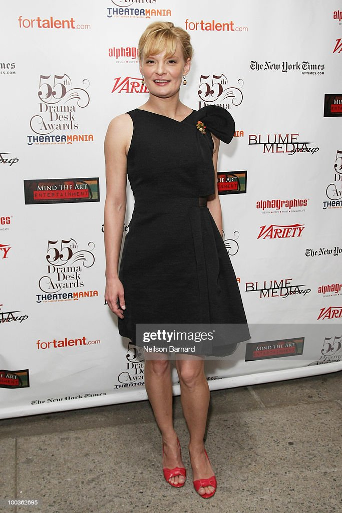 ActresMartha Plimpton arrives at the 55th Annual Drama Desk Award at FH LaGuardia Concert Hall at Lincoln Center on May 23, 2010 in New York City.