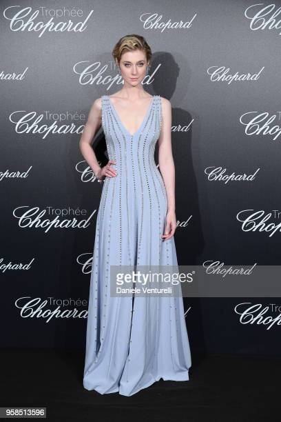 Actress 2018 Trophee Chopard laureate Elizabeth Debicki attends the Chopard Trophy during the 71st annual Cannes Film Festival at Martinez Hotel on...