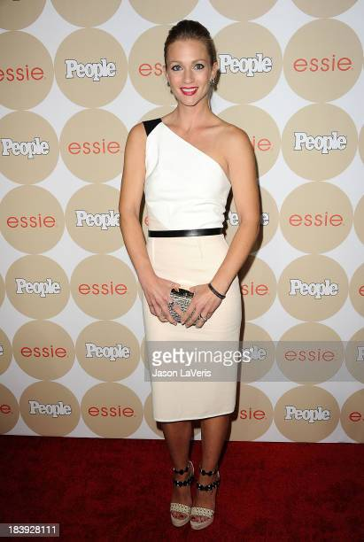 Actress A J Cook attends People's Ones To Watch party at Hinoki the Bird on October 9 2013 in Los Angeles California