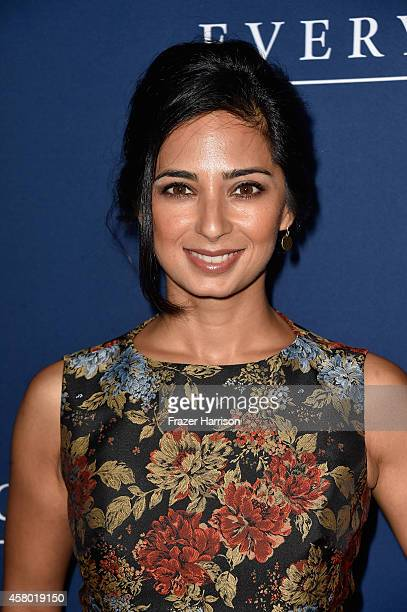 Actress Aarti Mann arrives to the Premiere of Focus Features' 'The Theory Of Everything' at AMPAS Samuel Goldwyn Theater on October 28 2014 in...