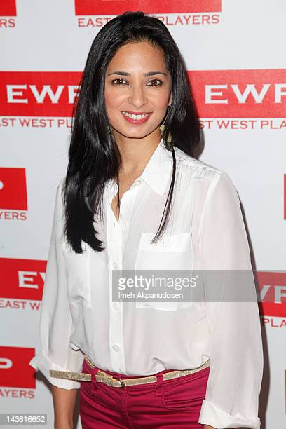 Actress Aarti Mann attends the East West Players 46th Anniversary Visionary Awards Fundraising Dinner Silent Auction at the Universal Hilton Hotel on...