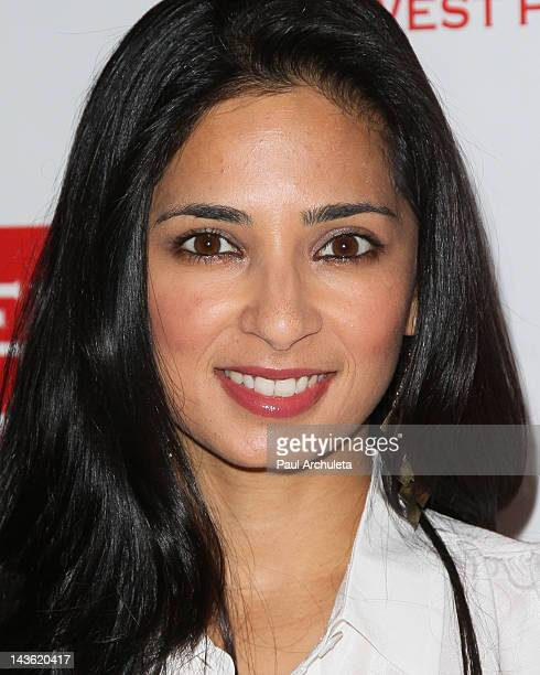 Actress Aarti Mann attends the East West Players 46th Anniversary Visionary Awards and fundraising dinner at the Universal Hilton Hotel on April 30...