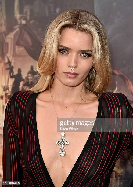 Actress Abbey Lee attends the premiere of Warner Bros Pictures' 'Mad Max Fury Road' at TCL Chinese Theatre on May 7 2015 in Hollywood California