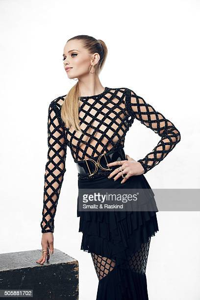 Actress Abbey Lee poses for a portrait during the 21st Annual Critics' Choice Awards at Barker Hangar on January 17 2016 in Santa Monica California