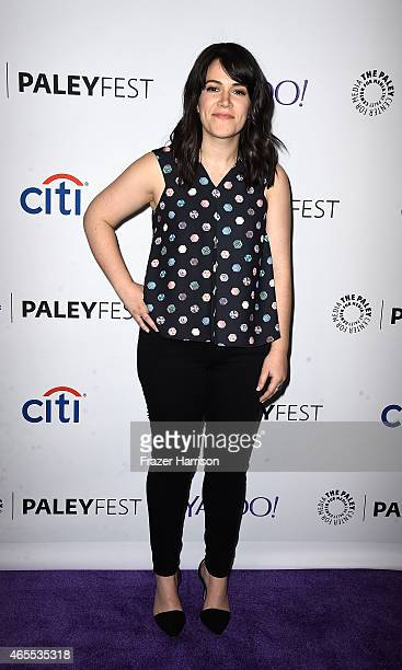 Actress Abbi Jacobson arrives at The Paley Center For Media's 32nd Annual PALEYFEST LA A Salute To Comedy Central at Dolby Theatre on March 7 2015 in...