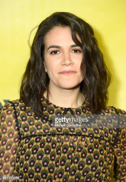 Actress Abbi Jacobson attends the '6 Balloons' premiere during the 2018 SXSW Conference and Festivals at ZACH Theatre at ZACH Theatre on March 12...