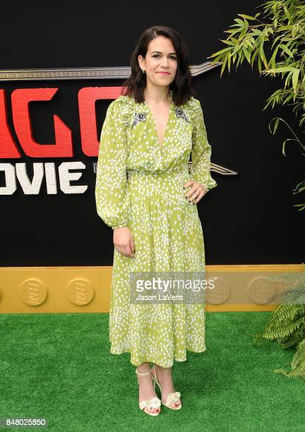 Actress Abbi Jacobson attends the premiere of 'The LEGO Ninjago Movie' at Regency Village Theatre on September 16 2017 in Westwood California