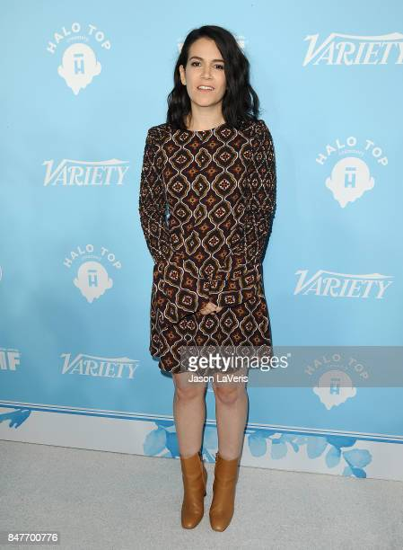 Actress Abbi Jacobson attends Variety and Women In Film's 2017 preEmmy celebration at Gracias Madre on September 15 2017 in West Hollywood California