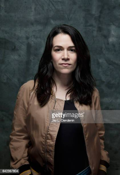 Actress Abbi Jacobson from the film Person to Person is photographed at the 2017 Sundance Film Festival for Los Angeles Times on January 20 2017 in...