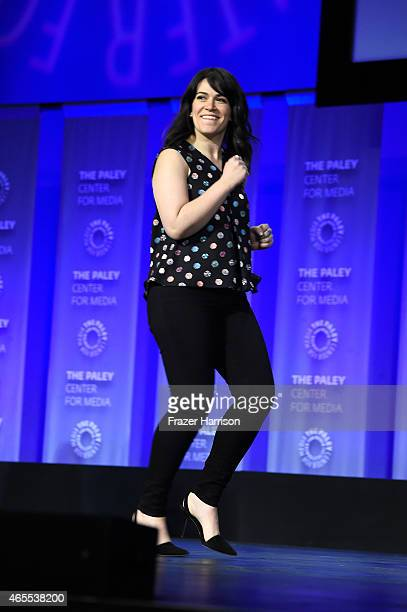 Actress Abbi Jacobson on stage at The Paley Center For Media's 32nd Annual PALEYFEST LA A Salute To Comedy Central at Dolby Theatre on March 7 2015...