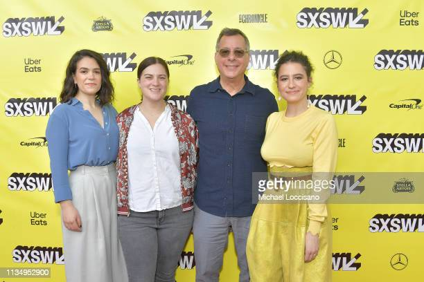 Actress Abbi Jacobson Sarah Babineau of Comedy Central President of Comedy Central Paramount Network and TV Land Kent Alterman and actress Ilana...