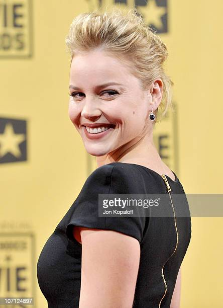 Actress Abbie Cornish arrives at the 15th Annual Critic's Choice Movie Awards at the Hollywood Palladium on January 15 2010 in Hollywood California