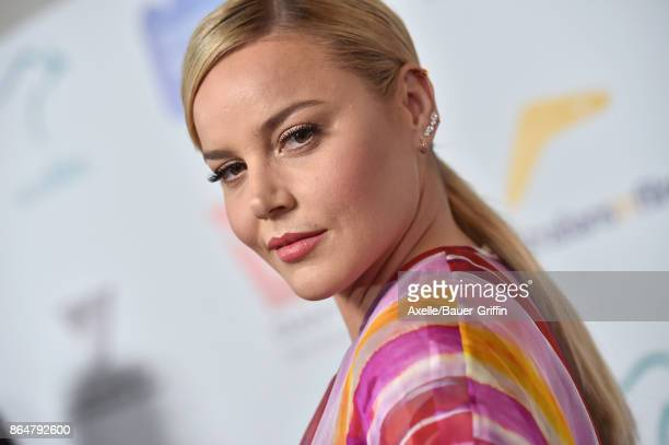 Actress Abbie Cornish arrives at the 6th Annual Australians in Film Awards Benefit Dinner at NeueHouse Hollywood on October 18 2017 in Los Angeles...