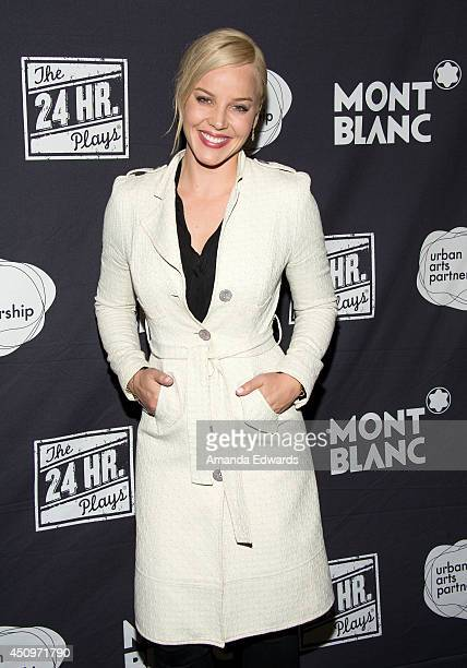 Actress Abbie Cornish arrives at the afterparty for the 4th annual production of The 24 Hour Plays In Los Angeles benefitting Urban Arts Partnership...