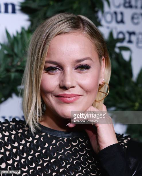 Actress Abbie Cornish arrives at the Fox Searchlight TIFF Party during the 2018 Toronto International Film Festival at the Four Seasons Centre For...