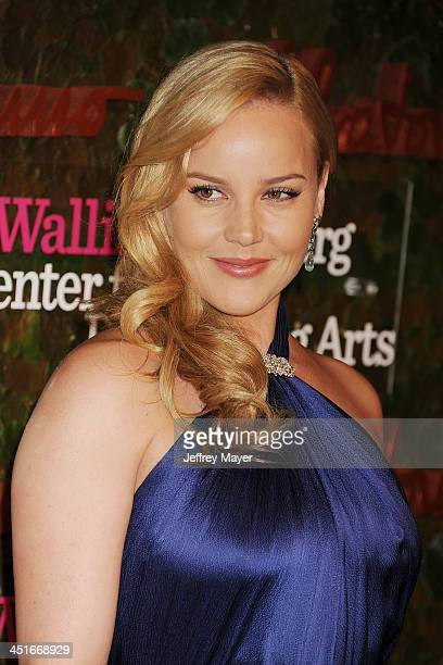 Actress Abbie Cornish arrives at the Wallis Annenberg Center For The Performing Arts Inaugural Gala at Wallis Annenberg Center for the Performing...