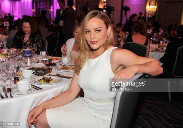 Actress Abbie Cornish attends Australians In Film Awards Benefit Dinner at InterContinental Hotel on June 27 2012 in Century City California