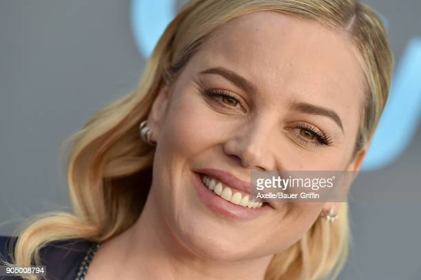 Actress Abbie Cornish attends the 23rd Annual Critics' Choice Awards at Barker Hangar on January 11 2018 in Santa Monica California