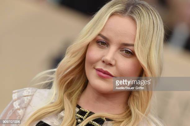 Actress Abbie Cornish attends the 24th Annual Screen Actors Guild Awards at The Shrine Auditorium on January 21 2018 in Los Angeles California