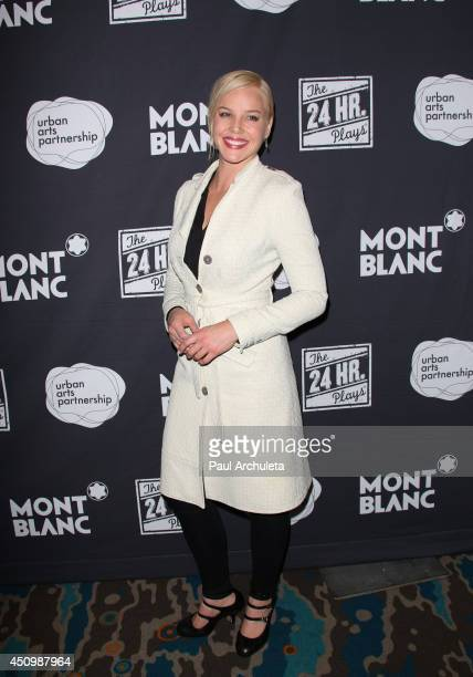 Actress Abbie Cornish attends the 4th annual production of the 24 Hour Plays In Los Angeles to benefit Urban Arts Partnership at The Shore Hotel on...