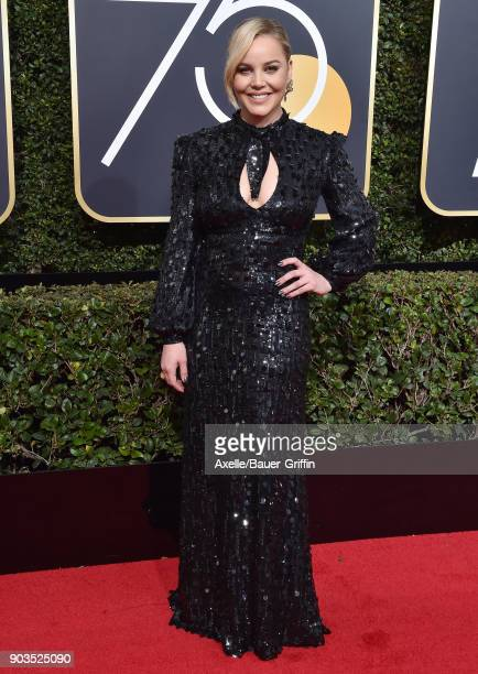 Actress Abbie Cornish attends the 75th Annual Golden Globe Awards at The Beverly Hilton Hotel on January 7 2018 in Beverly Hills California