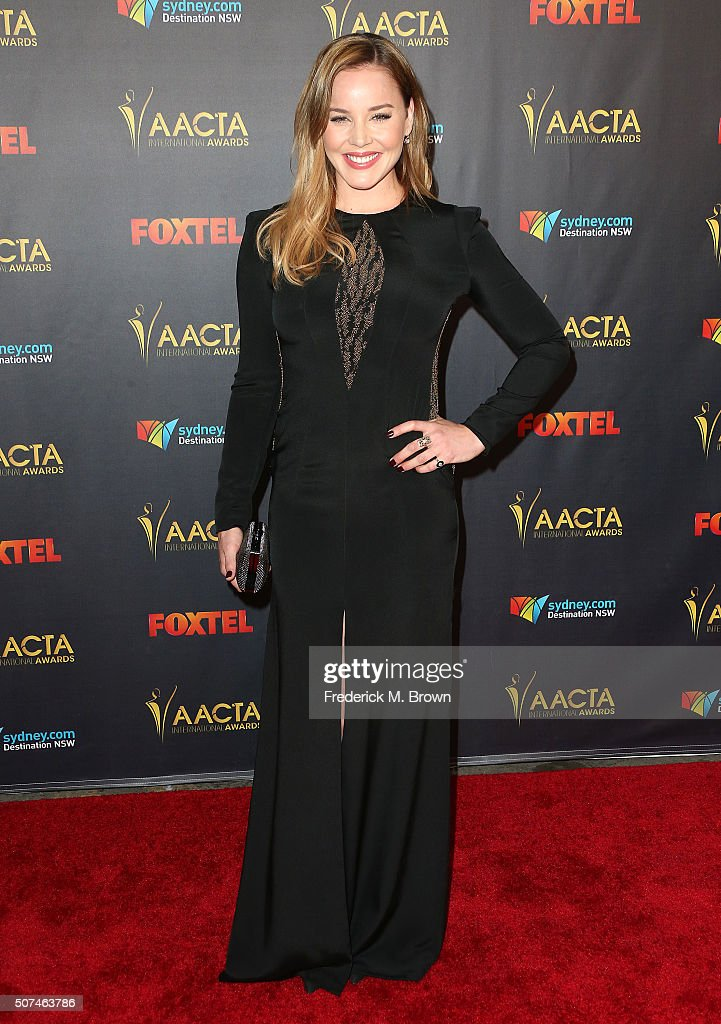 Actress Abbie Cornish attends the AACTA International Awards at Avalon Hollywood on January 29, 2016 in Los Angeles, California.