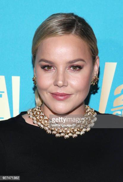 Actress Abbie Cornish attends the Fox Searchlight And 20th Century Fox Oscars PostParty on March 4 2018 in Los Angeles California