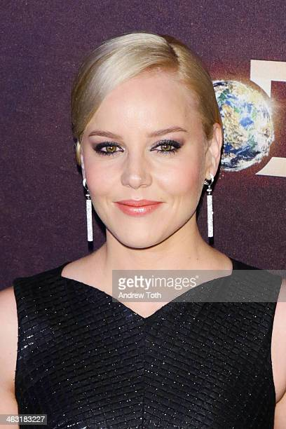 Actress Abbie Cornish attends the 'Klondike' series premiere at Best Buy Theater on January 16 2014 in New York City