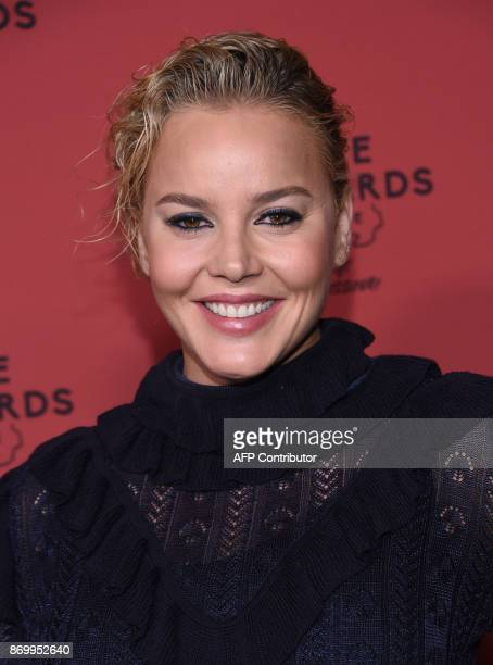 Actress Abbie Cornish attends the premiere of Three Billboards Outside Ebbing Missouri at Neuehouse Hollywood in Los Angeles on November 3 2017 / AFP...