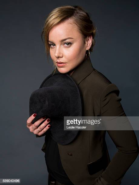 Actress Abbie Cornish is photographed for Glamourcom on April 18 2016 in New York City