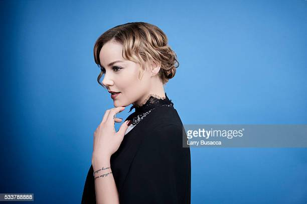 Actress Abbie Cornish poses for a portrait at the Tribeca Film Festival on April 19 2016 in New York City