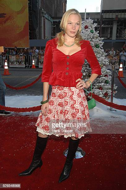 Actress Abby Brammell arrives at the premiere of 'Fred Claus' held at Grauman's Chinese Theater in Hollywood