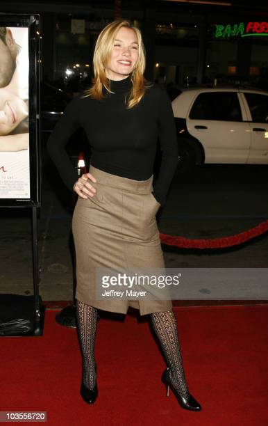 Actress Abby Brammell arrives at the Premiere of 'PS I Love You' at Grauman's Chinese Theatre on December 9 2007 in Hollywood California