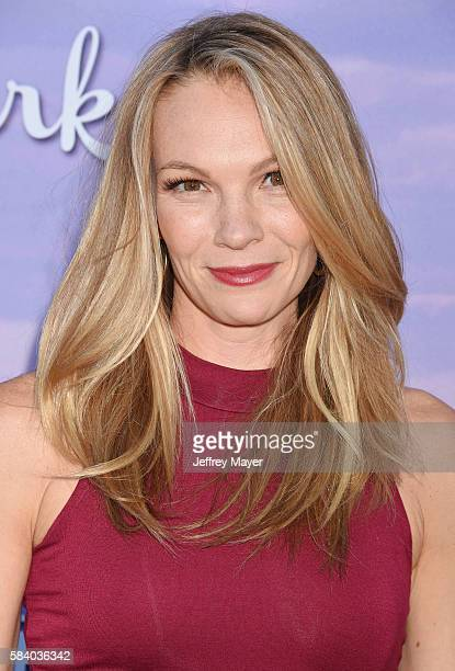 Actress Abby Brammell attends the Hallmark Channel and Hallmark Movies and Mysteries Summer 2016 TCA press tour event at a private residence on July...