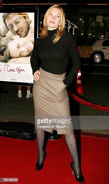 Actress Abby Brammell attends the Warner Bros' film premiere of 'PS I Love You' at Grauman's Chinese Theatre on December 9 2007 in Hollywood...