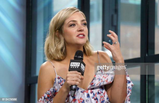 Actress Abby Elliott attends Build to discuss the show 'Odd Mom Out' at Build Studio on July 12 2017 in New York City