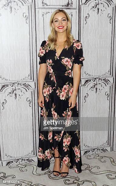 Actress Abby Elliott attends the AOL Build Speaker Series Jill Kargman and Abby Elliott 'Odd Mom Out' Season 2 at AOL Studios In New York on June 20...