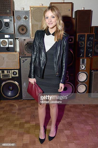 Actress Abby Elliott attends the Life Partners Premiere after party during the 2014 Tribeca Film Festival at Liberty Hall on April 18 2014 in New...