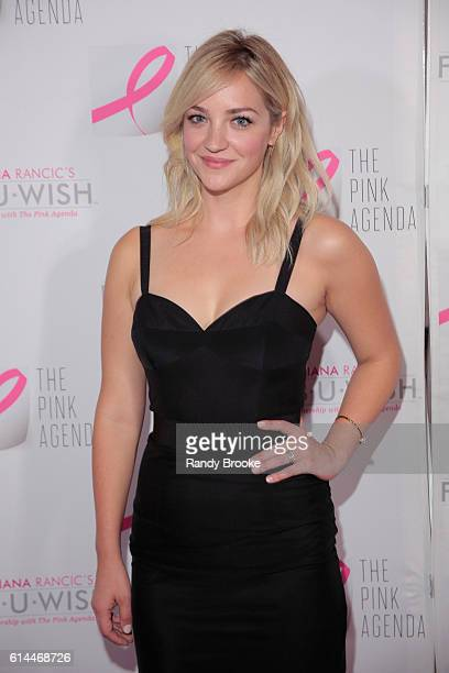 Actress Abby Elliott attends The Pink Agenda 2016 Gala at Three Sixty on October 13 2016 in New York City