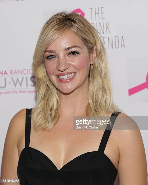 Actress Abby Elliott attends The Pink Agenda's 2016 Gala held at Three Sixty on October 13 2016 in New York City
