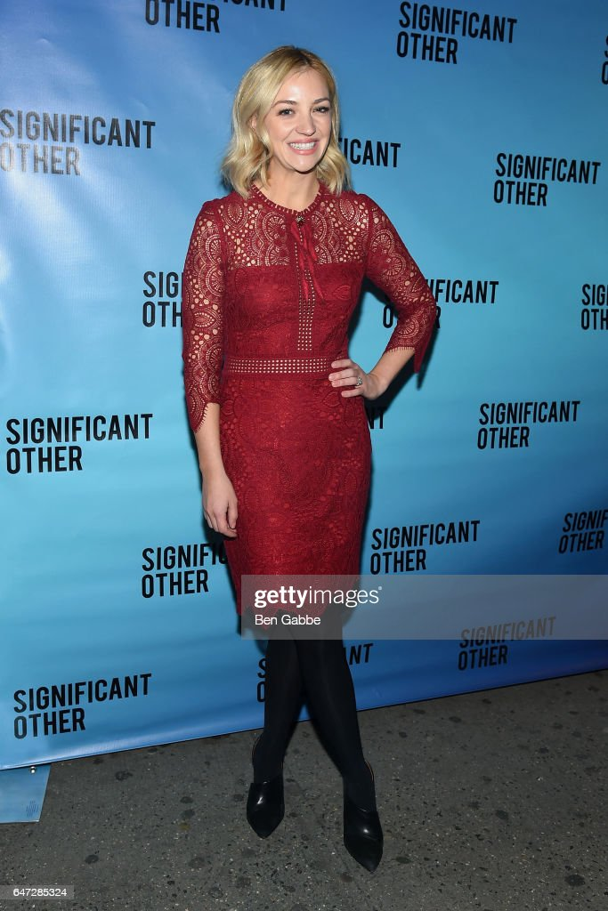 'Significant Other' Opening Night : News Photo