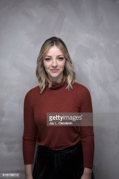 Actress Abby Elliott from the film 'Clara's Ghost' is photographed for Los Angeles Times on January 19 2018 in the LA Times Studio at Chase Sapphire...