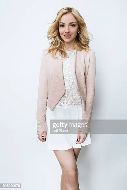 Actress Abby Elliott is photographed for TV Guide Magazine on January 15 2015 in Pasadena California