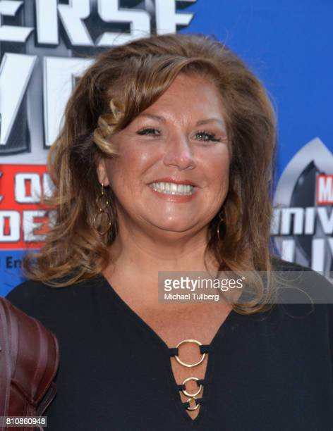 Actress Abby Lee Miller attends the world premiere of Marvel Universe Live Age Of Heroes at Staples Center on July 8 2017 in Los Angeles California