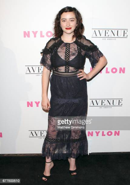 Actress Abby Quinn attends NYLON's Annual Young Hollywood May Issue Event at Avenue on May 2 2017 in Los Angeles California