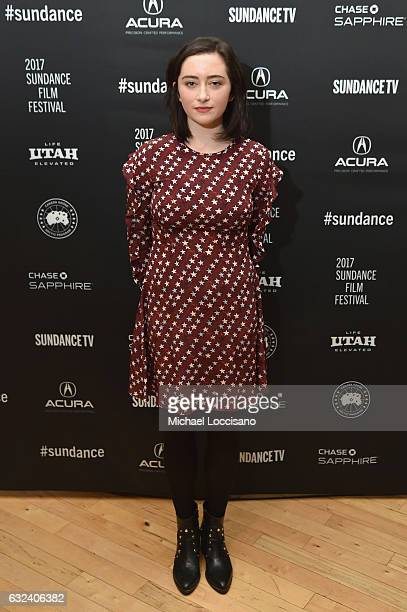 Actress Abby Quinn attends the Cinema Cafe on day 4 of the 2017 Sundance Film Festival at Filmmaker Lodge on January 22 2017 in Park City Utah
